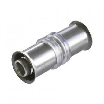 MPR / MFL Press coupler for the connection of floor heating pipes 16 x 16